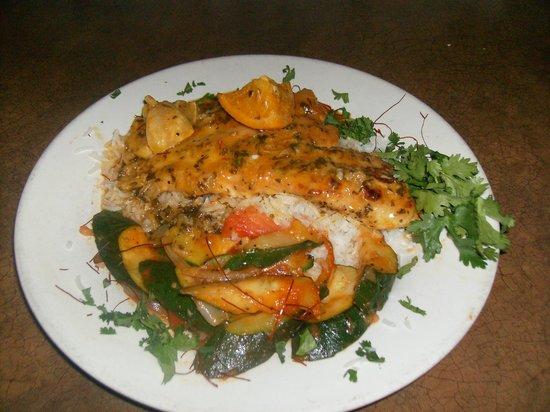 Caspian Cafe Mediterranean: Morrocan Chicken