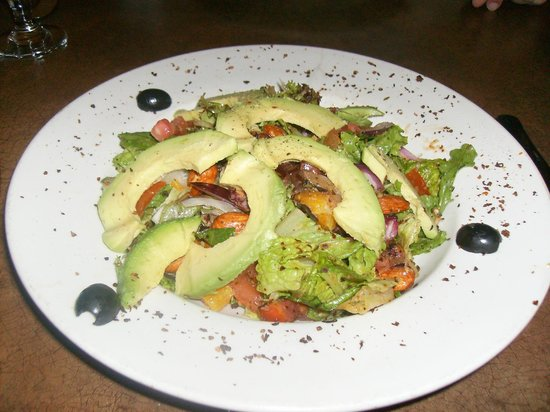 Caspian Cafe Mediterranean: Avocado, Orange, and Almond Salad