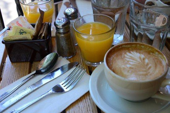 Cafe Orlin : Let's jump start the morning!