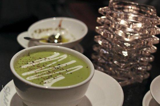 Stefano's: Asparagus Bisque