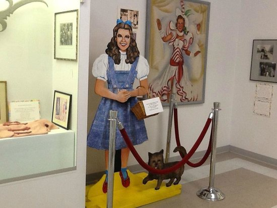 Judy Garland Museum: In the memorabilia section