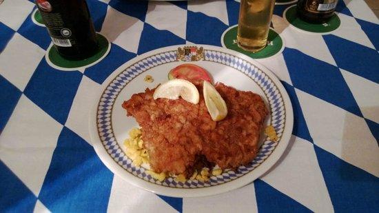 Bavaria German Restaurant: Wiener Schnitzel