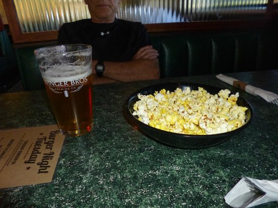 Wingers: Beer & Popcorn While We Wait