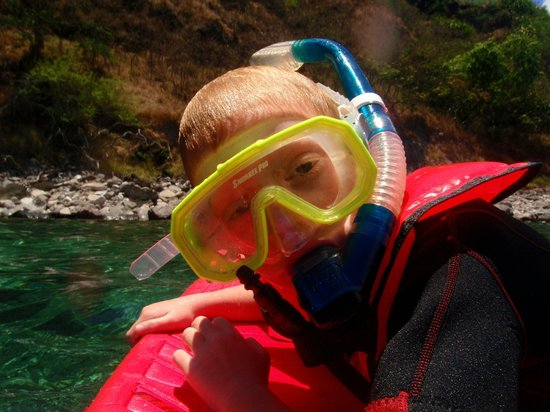 Maui Snorkel Tours: Youngest having a blast!
