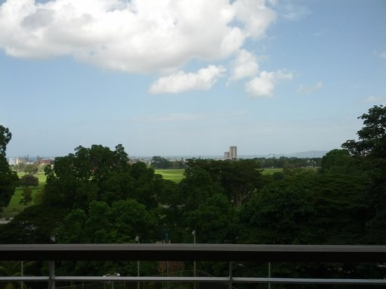 Hilton Trinidad & Conference Centre: The view from the room