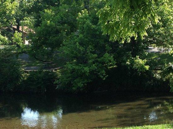 Tennessee Mountain Lodge: The Creek