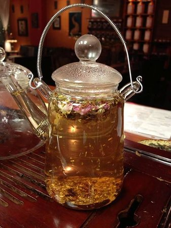 "Yosefa AntiquiTEA: My usual: ""Tea For Her"""
