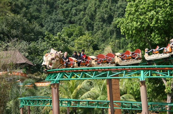 roller coaster picture of lost world of tambun ipoh tripadvisor