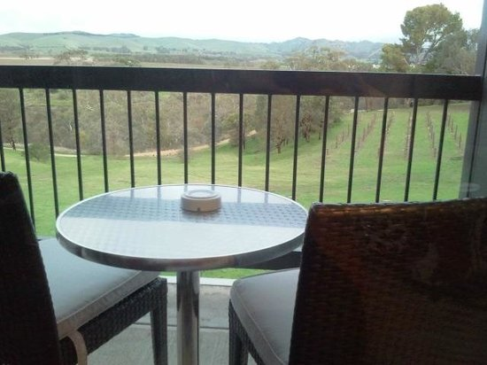 Novotel Barossa Valley Resort: Balcony with a view