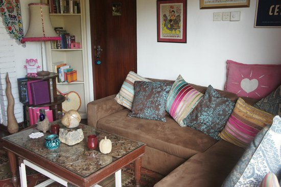 Kikili House: The guest lounge area