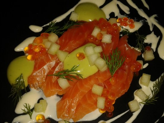 Stokehouse - Upstairs : Trout starter