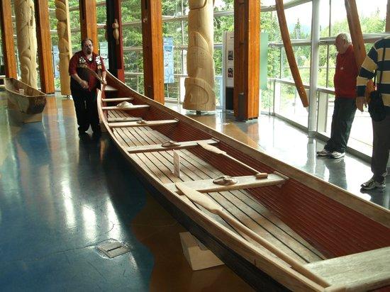 Squamish Lil'wat Cultural Centre: Cedar Canoe