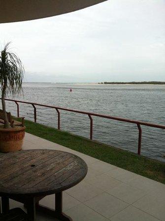La Promenade: view from balcony