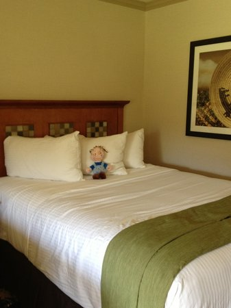 Sycuan Golf Resort: Comfy bed