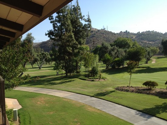 Sycuan Golf Resort: view from our room