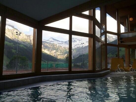 Adler Adelboden: la piscine intérieure