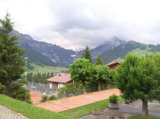 Adler Adelboden: vue de l'hôtel