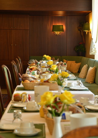 Hotel Brack : Dining room @ breakfast time