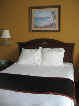 BEST WESTERN Edgewater Inn: nice comfy bed