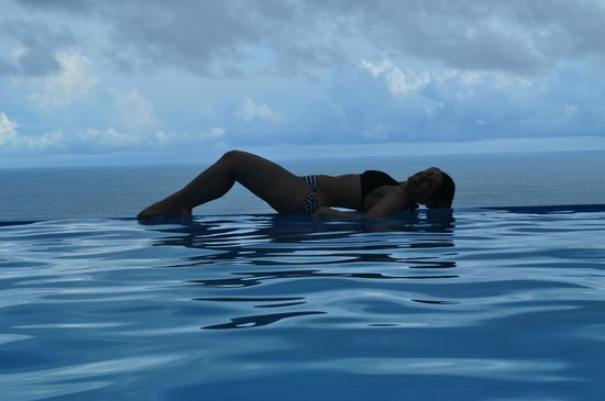 Cristal Azul: Love that endless pool
