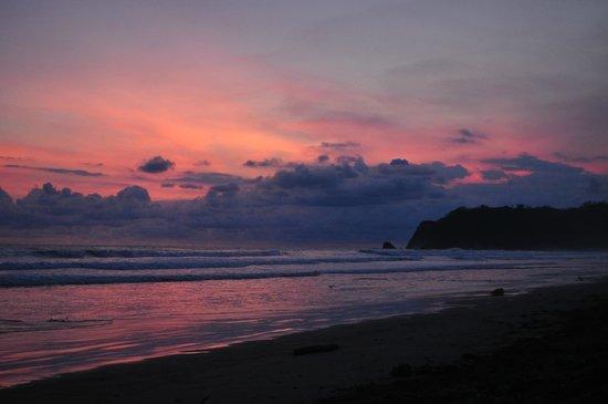 Cristal Azul : Sunset at the beach