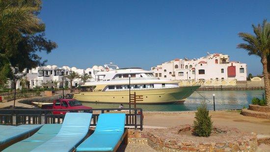 Arabella Azur Resort: Aussicht vom großen Pool