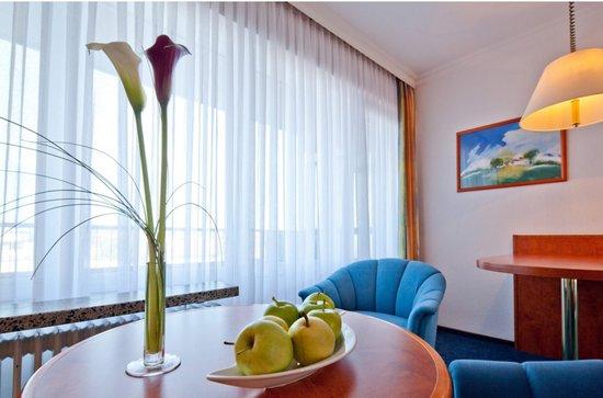 Apartment-Hotel Hamburg Mitte: Sitzecke