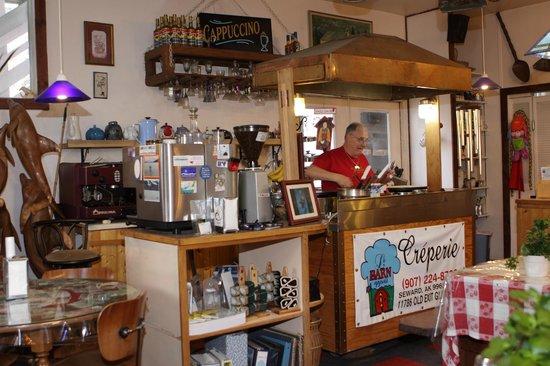 Le Barn Appetit Inn & Creperie : Creperie