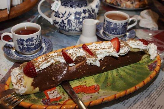 Le Barn Appetit Inn & Creperie : Dessert Crepe