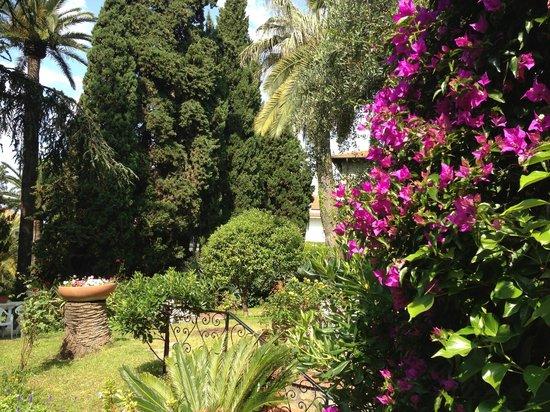 Hotel Astoria: garden in front of hotel