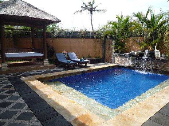 The Grand Bali Nusa Dua: コテージのプライベートプール
