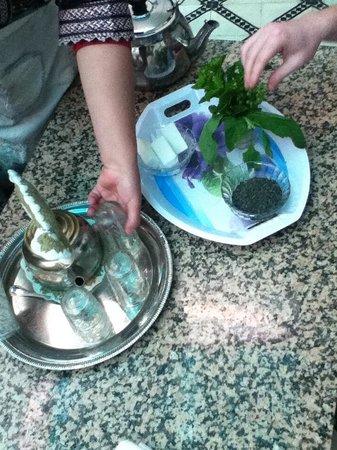 Ateliers d'Ailleurs: Moroccan Mint Tea!<3