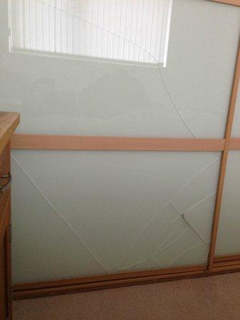 The B Suites Edinburgh : Wardrobe door in master bedroom