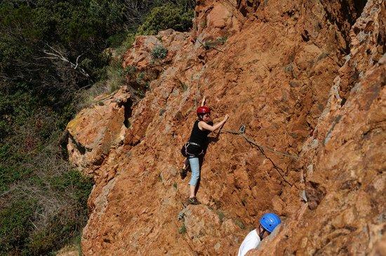 LesGeckos : Escalade Cap Dramont