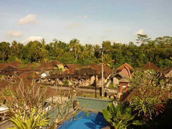 Pariliana, Maison et Table d'Hotes a Bali: Vue de la chambre du 1er étage