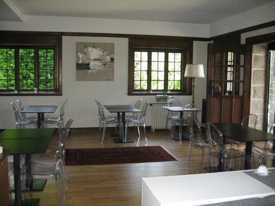 Manoir Dalmore: salle repas