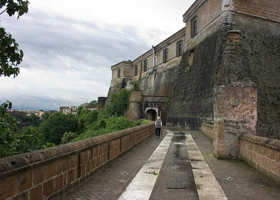 Hotel Relais Falisco: Fortress at Civita Castellana