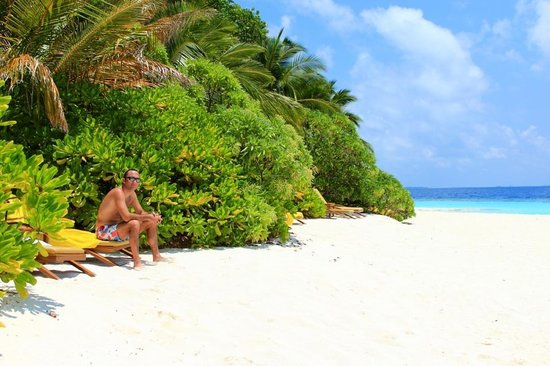 Angsana Ihuru: Beach villa - privacy