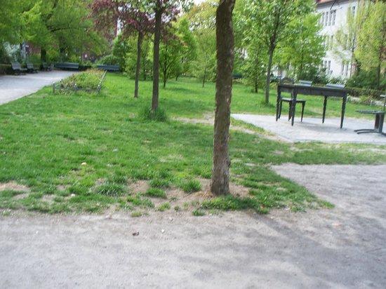 Koppenplatz: il giardino