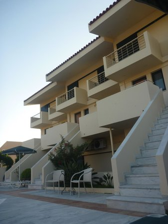 Hotel Orestis : Nice apartments, great view