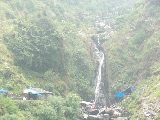 McLeod Ganj, India: Waterfall