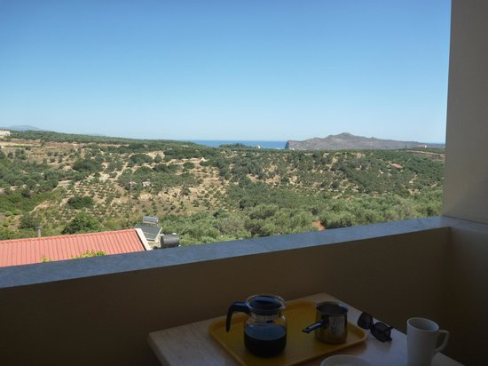 Hotel Orestis: View from back balcony