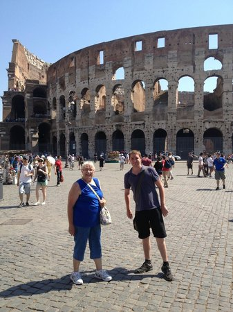 Rome With Jimmy - Day Tour: Jimmy and my mother