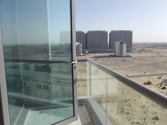 Abidos Hotel Apartment - Al Barsha: View from room