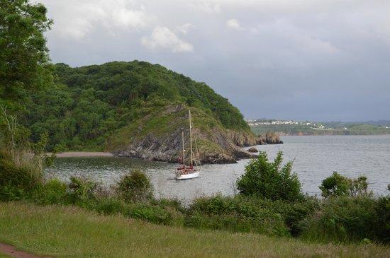 Woodlands Guest House: Churston Cove, 15 mins walk from B& B
