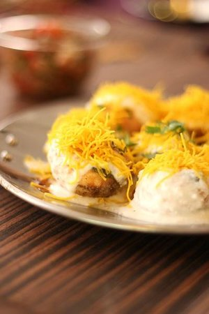Legend of India: One of our street food Dahi Puri