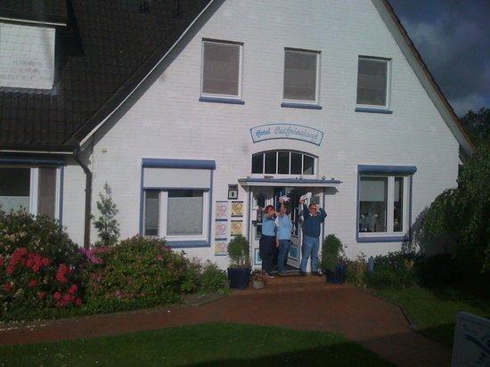 Hotel Ostfriesland garni: Abschied  vom Hotel