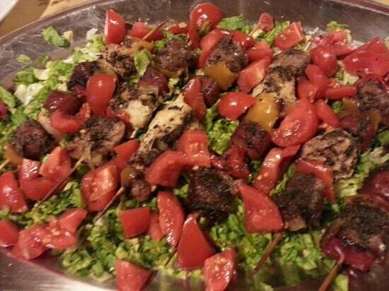 Agriturismo Il CerroSughero: Spiedini di carne