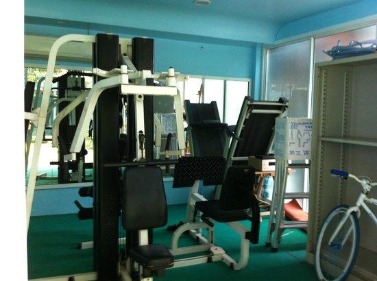 Club One Seven Phuket: The basic Gym