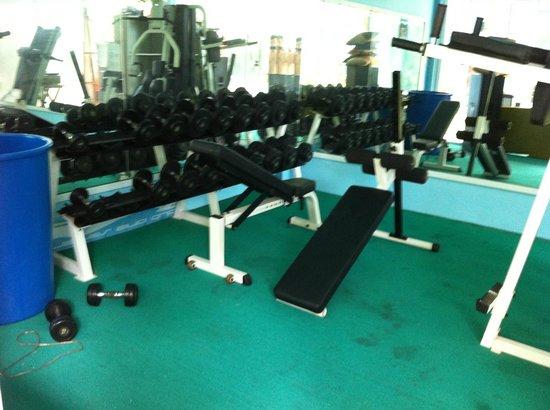 Club One Seven Phuket: Gym